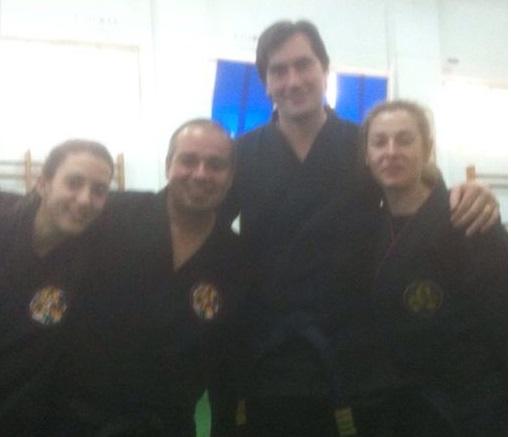 El Kenpo sexitano cuenta con tres nuevos cinturones negros en sus clubes de Almuñécar y la Herradura