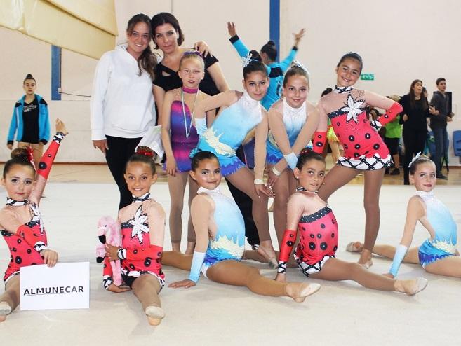 Nuevo éxito de la Escuela Municipal de Gimnasia Rítmica de Almuñécar