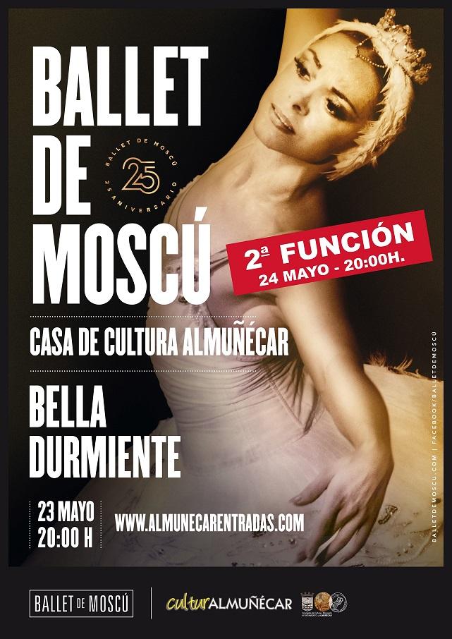 La Concejalía de Cultura  pone a la venta las entradas para una segunda  función del Ballet de Moscú en Almuñécar