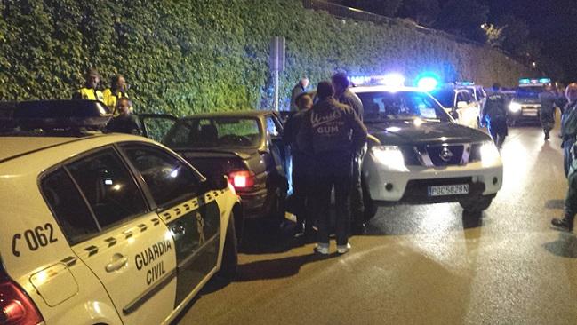 La Guardia Civil detiene a los supuestos autores del robo con fuerza de un bar de Lanjarón
