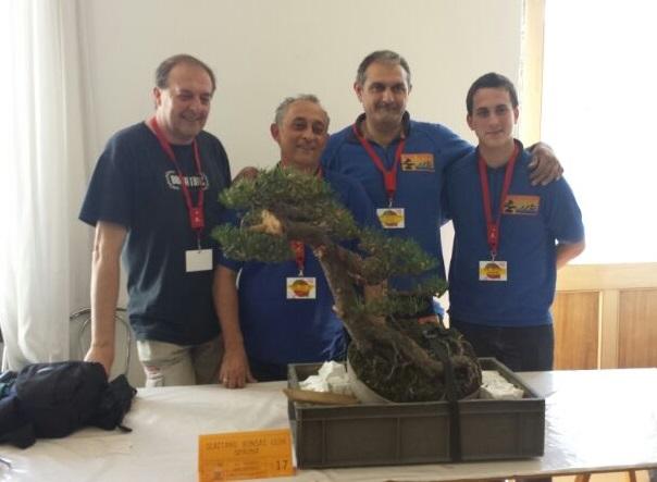 El Sexitano Bonsai Club  ha quedado segundo  clasificado en un encuentro internacional celebrado en Italia
