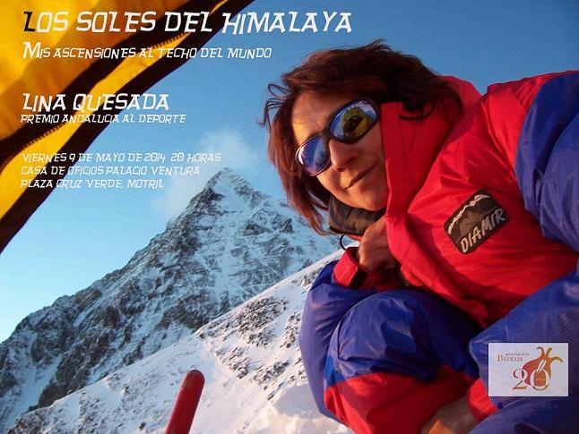 """Buxus nos trae a Catalina Quesada Castro para hablar de """"Los soles del Himalaya"""""""