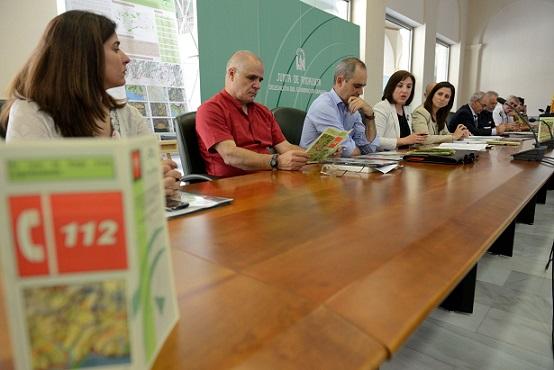 La Junta presenta a seis ayuntamientos de la Costa el estudio de prevención de incendios en zona urbana y forestal