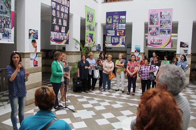 Una exposición fotográfica pone el broche de oro al proyecto 'Mujeres liderando espacios'