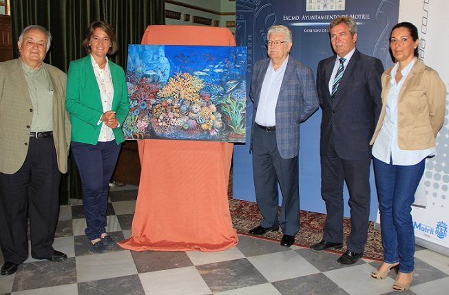 Motril acogerá una exposición pictórica antológica del  artista Antonio Domínguez de Haro