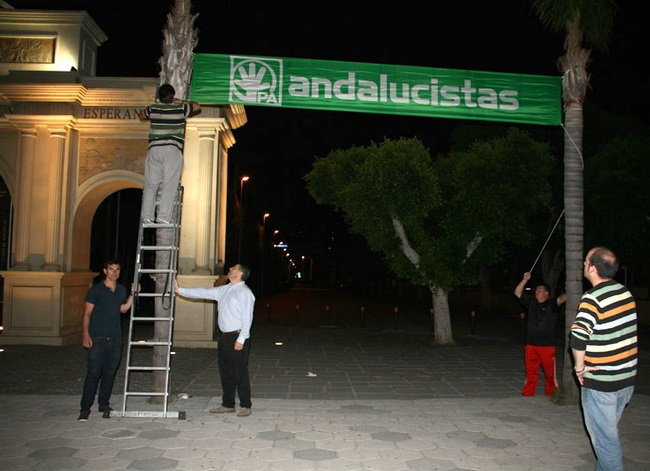 "PA: ""En Europa, defiende Andalucía"""