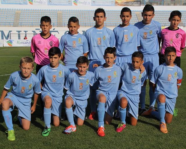 La Selección de Granada consigue la mejor goleada en el arranque del Campeonato Alevin Futbol 7