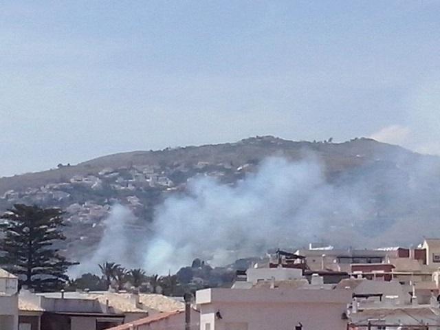 Controlado el incendio del Monte de Los Almendros en Salobreña