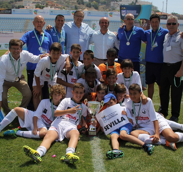La Selección sevillana  se proclama campeona en el Andaluz Alevín de Futbol 7  al ganar a la malagueña 3 – 1