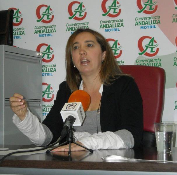 Inmaculada Gómez de CA expresa a Alvarez de la Chica la problemática de Varadero y Santa Adela