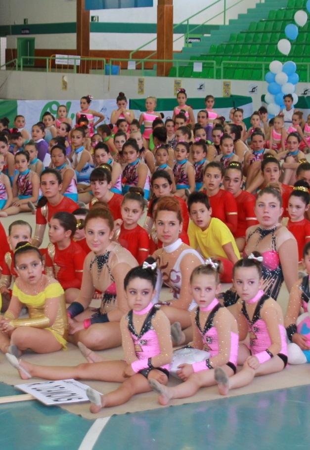 Almuñécar celebró con éxito la fiesta de la Gimnasia Rítmica
