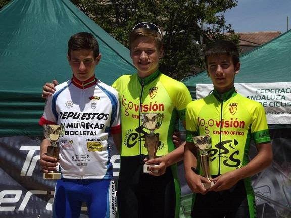 La Escuela de Ciclismo Sexitana consigue una decena de podios en la prueba ciclista de Alhendín