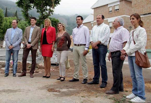 La Diputación impulsa las obras demandadas durante décadas por los vecinos de la barriada de la Paz de Lanjarón