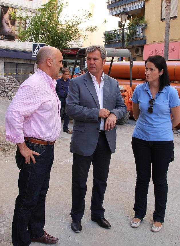 Las condiciones de salubridad justifican la urgencia de la obra de la Avenida de Andalucía en Almuñécar