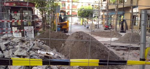 La Asociación de Empresas de Construcción (AECSALH), denuncia la ejecución de las obras de la avda de Andalucía por una empresa del Padul