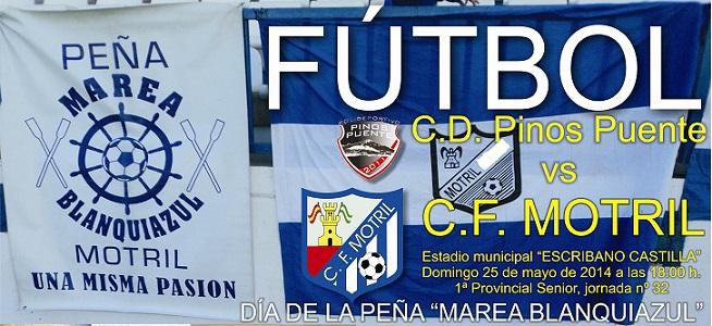 El CF Motril se juega el ascenso en su partido contra el CD Pinos Puente
