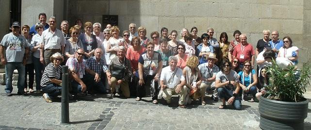 Toledo cautiva a medio centenar de motrileños viajeros