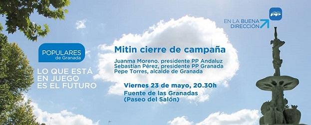 El PP de Salobreña fletará un autobús para acudir en Granada al mitin fin de campaña con Juanma Moreno