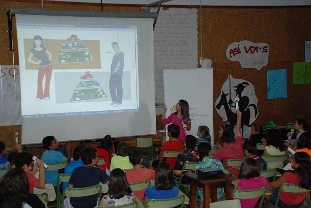 El proyecto Come Sano visita por primera vez la localidad vecina de Salobreña