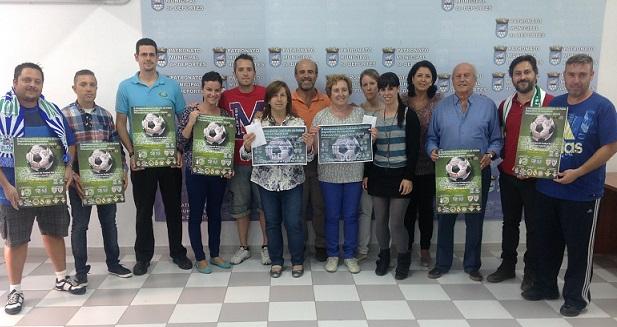 Siete peñas futbolísticas se solidarizan con las asociaciones Afavida y Acofa- Tdah haciendo entrega de 2.200 euros