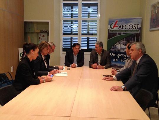 Ayuntamiento, AECOST, Cámara de Comercio de Motril y Granada y Puerto unidos en favor de la Linea marítima Motril-Melilla