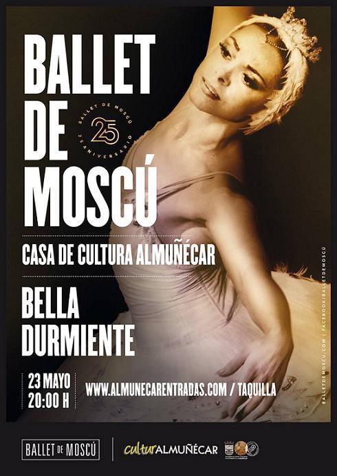 El Ballet de Moscú presenta hoy y mañana  en Almuñécar La Bella Durmiente