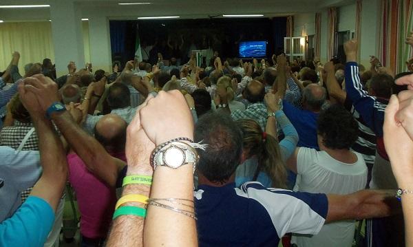 Multitudinario acto del PA en el cierre de campaña del PA de Almuñécar