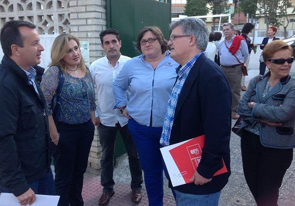 El PSOE pide el voto para acabar los recortes y recuperar los derechos sociales