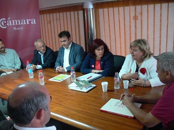 """Aguilera solicitará una reunión con el comisario de Competencia para tratar de frenar la """"discriminación"""" al Puerto de Motril"""