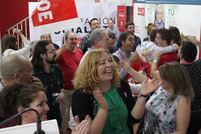 """Flor Almón destaca las ganas de cambio de los motrileños, expresa su preocupación por la abstención y reafirma que el PSOE seguirá a pie de calle, """"con los ciudadanos"""""""