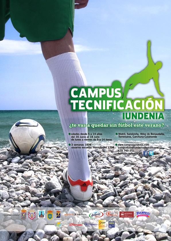El fútbol continúa este verano en la Costa Tropical  gracias a los Campus de Tecnificación Iundenia