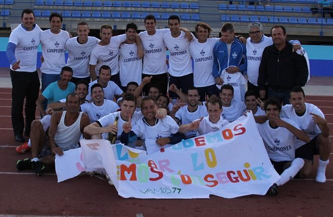 El Almuñécar 77 se  proclama campeón de la Regional Preferente y asciende a la Primera Andaluza