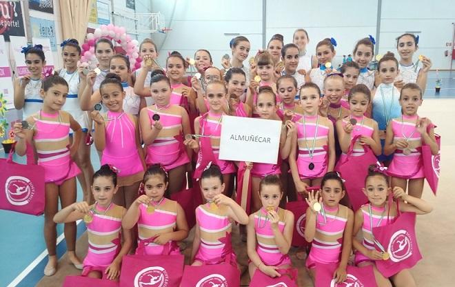La Escuela de Gimnasia Rítmica de Almuñécar sigue cosechando éxitos