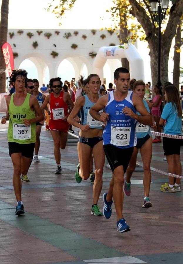 El Club Atletismo Almuñécar en la III Carrera IHSM La Mayora