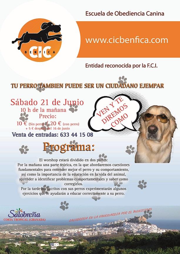 """Un taller tratará de concienciar a perros y dueños para ser """"ciudadanos ejemplares"""""""