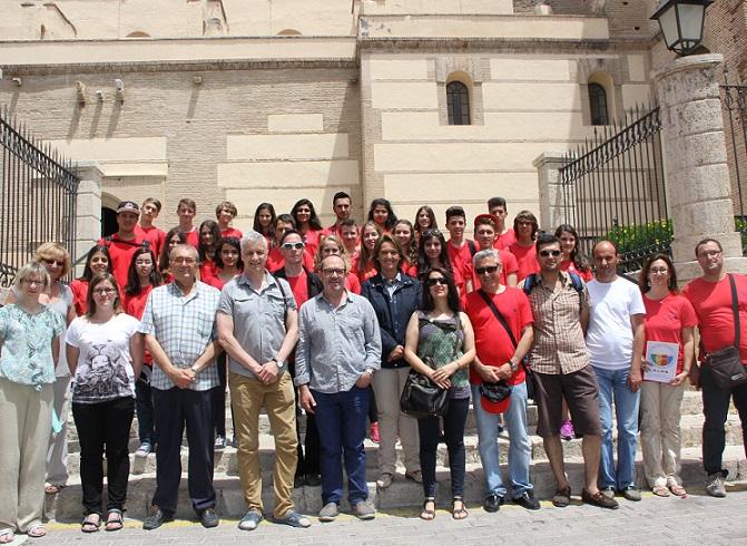 Alumnos de intercambio polacos y turcos visitan Motril a través de un programa de intercambio
