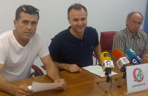 """Rechazo del PP a destinar una partida al fomento del empleo"" por Convergencia Andaluza"