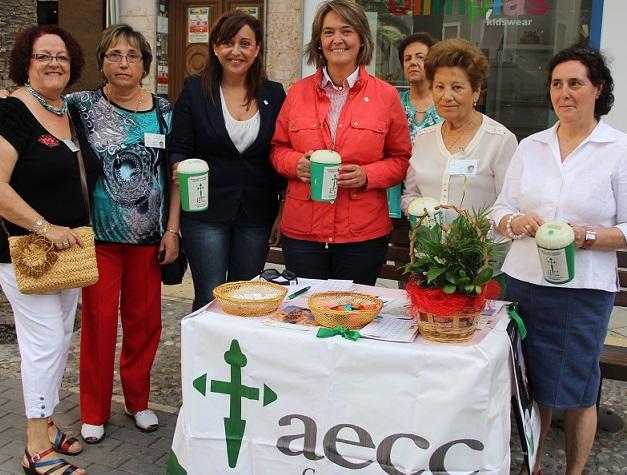 La AECC ha realizado hoy la tradicional cuestación cuyos fondos irán destinados a la investigación