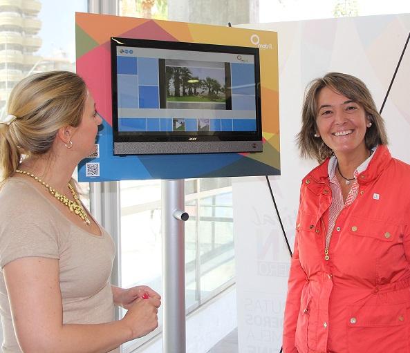 La oficina de turismo incorpora pantallas táctiles para completar la atención a visitantes mediante el uso de las nuevas tecnologías