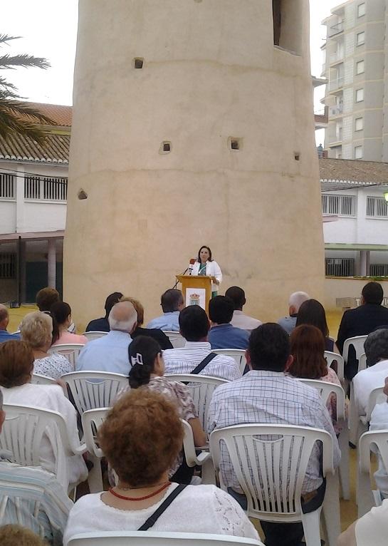 Inauguración del Parque Torre Vigía de Torrenueva