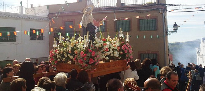 Lobres celebra sus fiestas de San Antonio