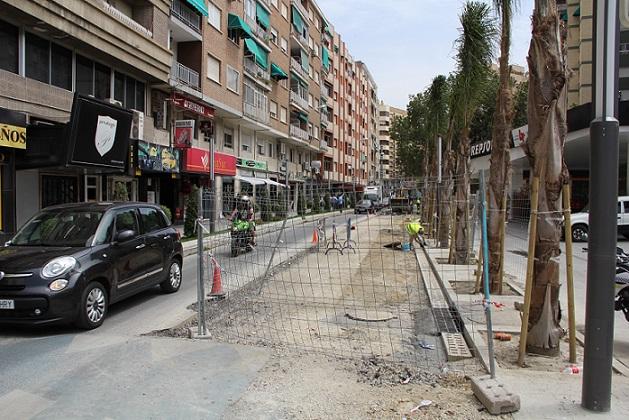 La avenida de Andalucía se corta al tráfico mañana para asfaltarla