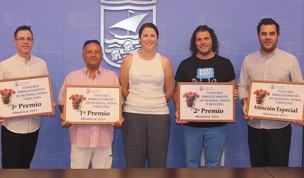 Entregados los premios del I Concurso Municipal de Embellecimiento de Fachadas de Almuñécar