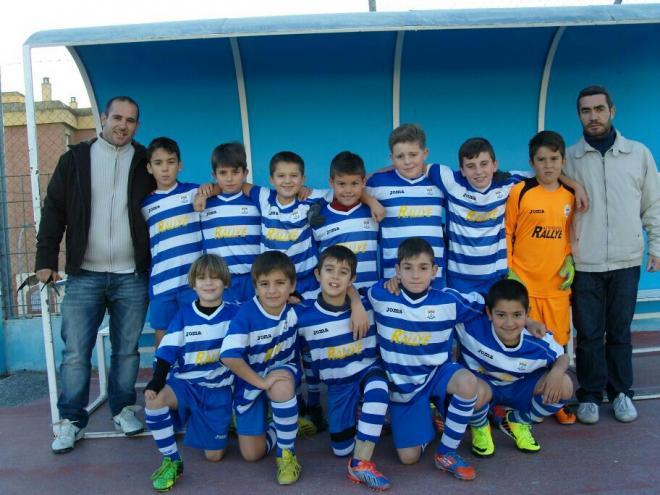 la UD Motril Alevín y Benjamin se enfrentó con la élite del fútbol andaluz