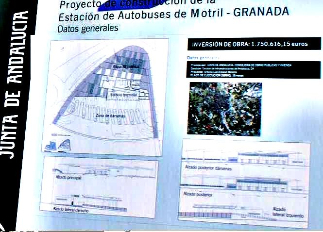 La Junta construirá la estación de autobuses de Motril