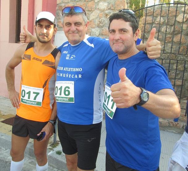 El Club Atletismo Almuñécar en la II Subida a Peña Escrita