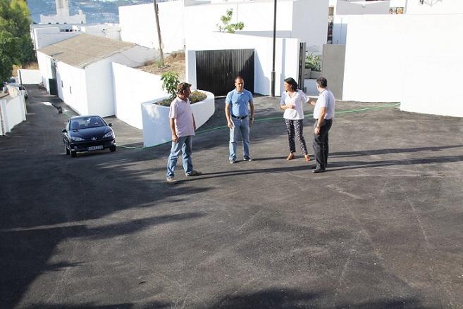 El Ayuntamiento de Almuñécar concluye las obras de mejora en el acceso norte  al cementerio y la ordenación exterior