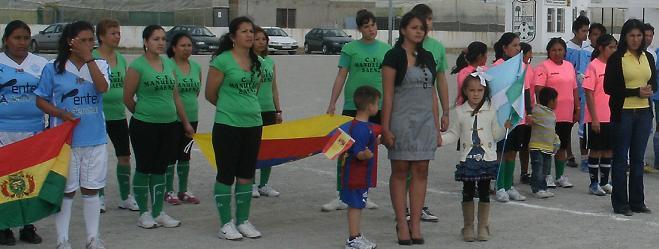 La asociación Antonio José de Sucre celebra este domingo en Carchuna el II mundialito Intercultural