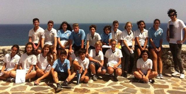 """Almuñécar Internacional School participa en el programa """"Un mar de historias"""""""