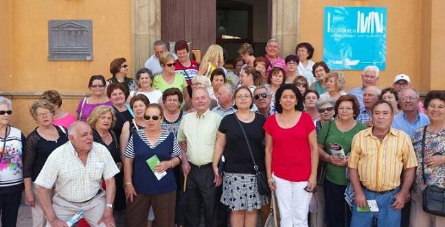 Medio centenar de  mayores sexitanos disfrutan esta semana conociendo el Campo de Gibraltar